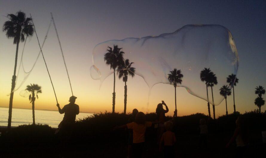 San Clemente Bubble Man