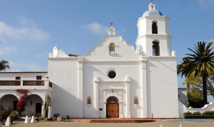 The Old Mission San Luis Rey