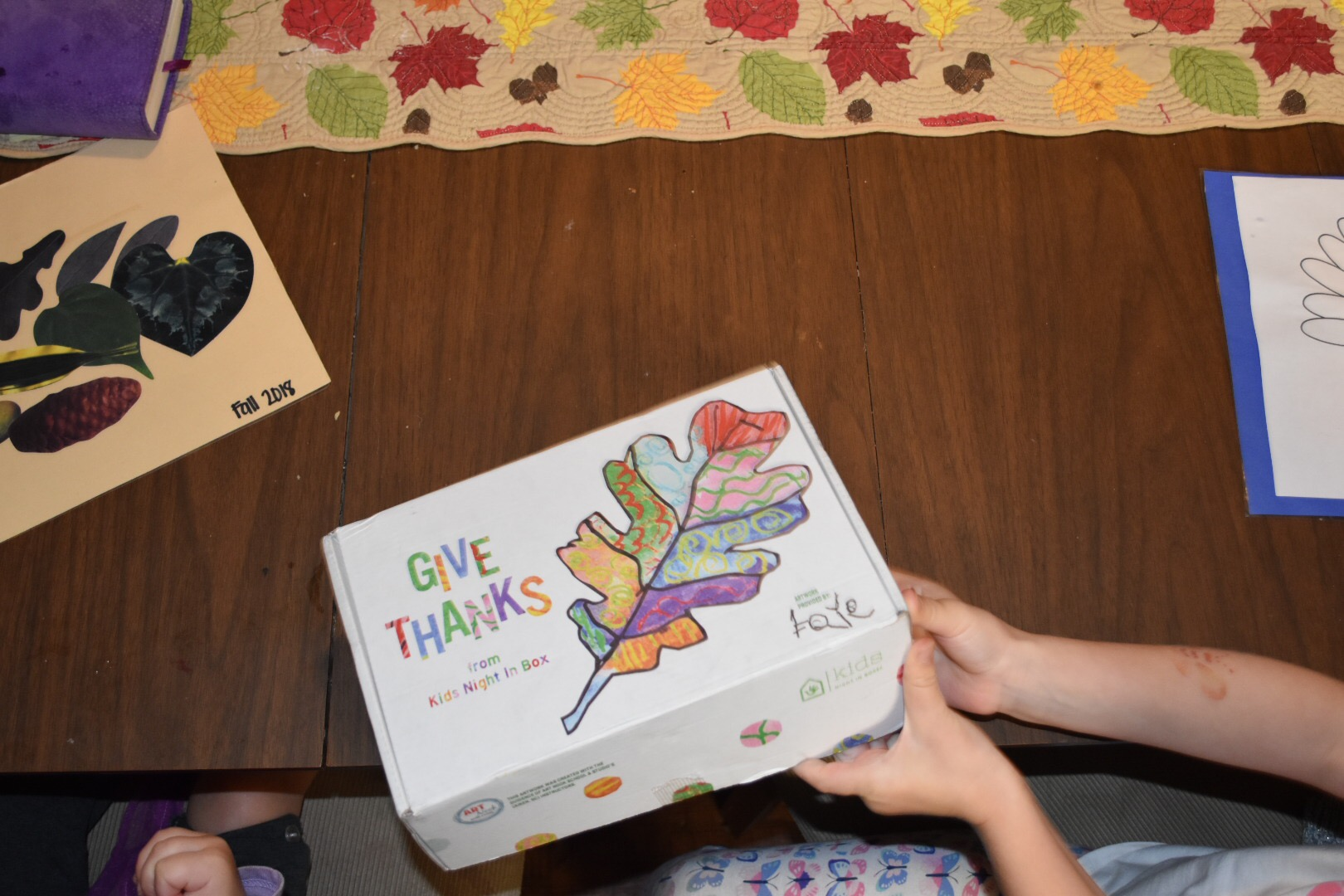 Kids Night In Box – Give Thanks