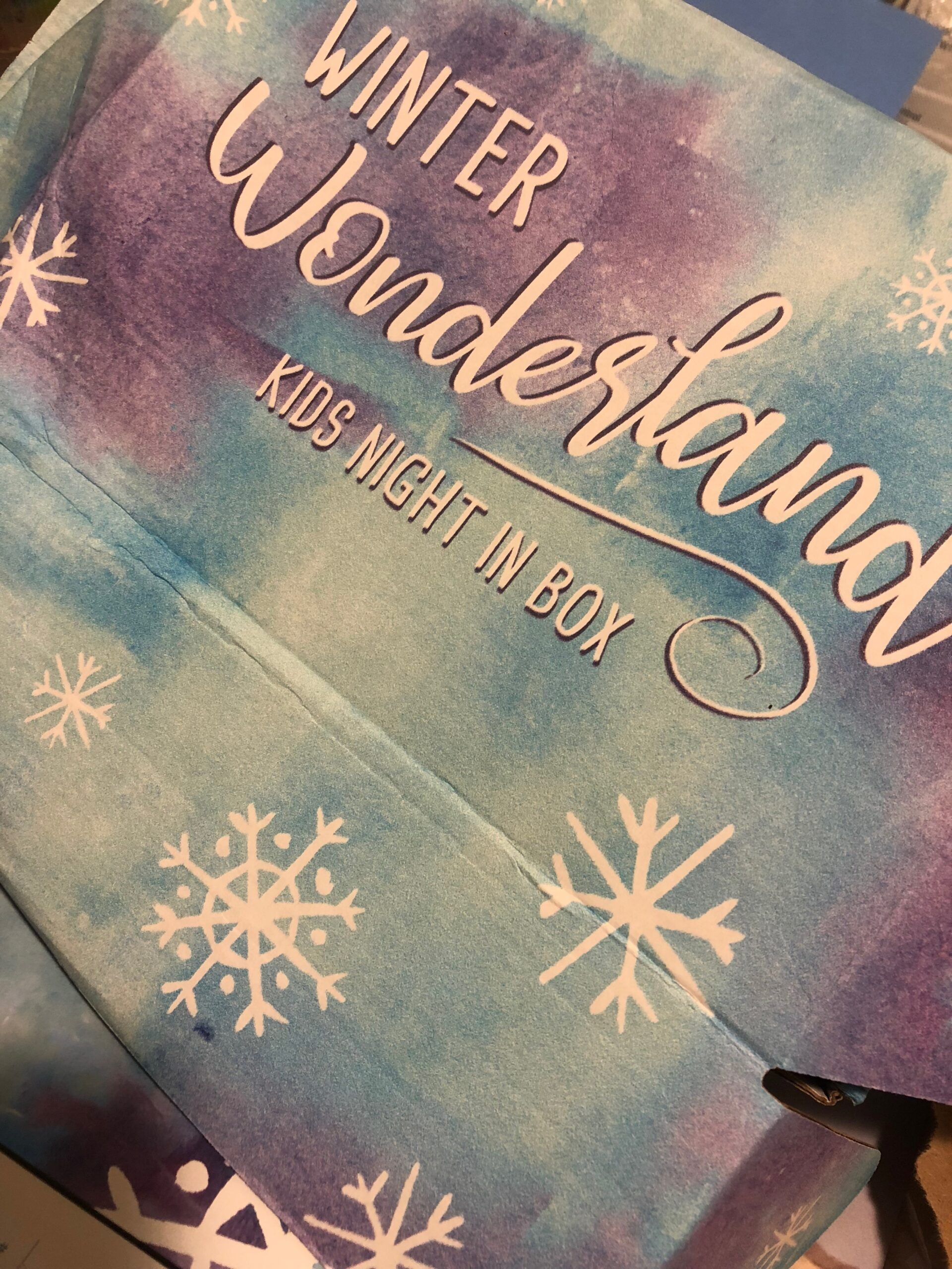 Kids Night In Box: Winter Wonderland