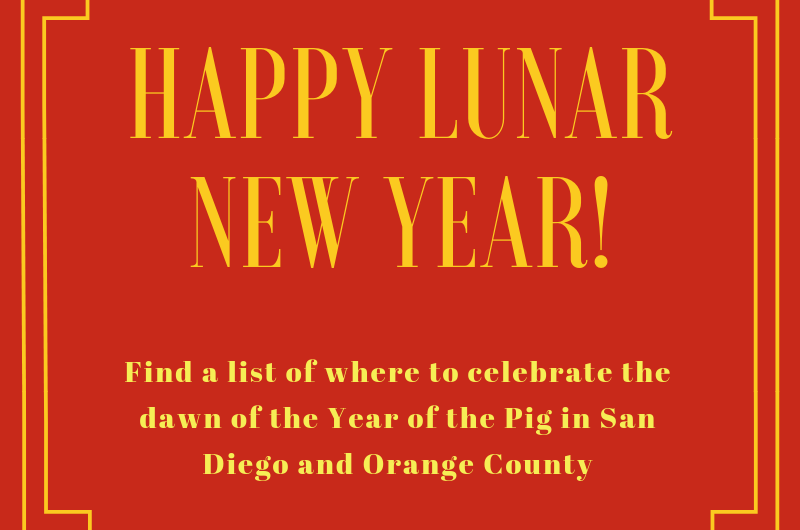 Lunar New Year in SoCal