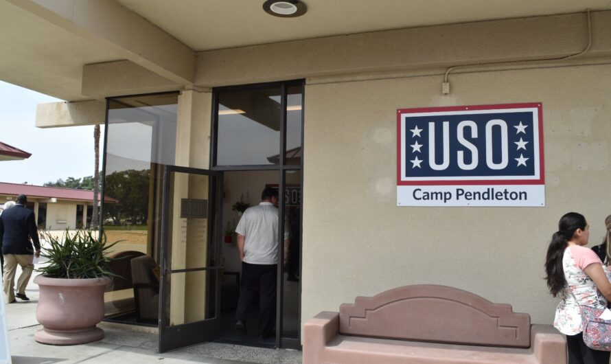The USO is coming to Camp Pendleton!